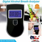 Portable Police Breathalyzer Analyzer Detector Digital Alcohol Breath Tester US