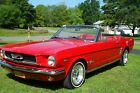 1966 Ford Mustang convertible Numbers matching 289 CI Convertible  NO RESERVE watch video