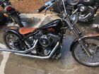 1997 Custom Built Motorcycles Bobber  1997 Harley Davidson custom softail