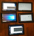 Lot of 5 Fujitsu Stylistic Q702 Tablet i5,4GB,32GB windows 10 Read description