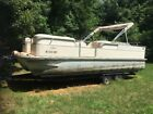 2005 G3 Lx3 22 Cruise Triple pontoon tritoon pontoon boat 150 hp tritune