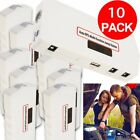 10 PCS Car Jump Starter Power Bank Vehicle Battery Charger Engine Cables Pack FY