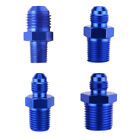 Auto Fuel Systems AN6 NPT Straight Fuel Oil Air Hose Fitting Male Adapter Blue