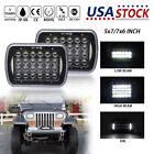 "2pcs 7""x6"" 5X7 '' LED Headlight sealed Beam light DRL for Jeep Cherokee XJ Truck"