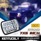 "1PCS 7X6"" Cool White LED  Light Bulbs Headlamp Clear Hi/Lo Sealed Beam Headlight"