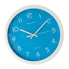12inch Silent Wall Clock Non-Ticking Decorative Clock Home Blue
