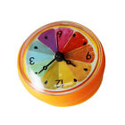 Waterproof Suction Cup Wall Clock Bath Shower Kitchen Clock Home Decor D