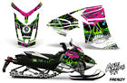 Ski-Doo Rev XR Decal Graphic Kit Sled Snowmobile Sticker Wrap 2013+ FRENZY GREEN