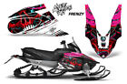 Yamaha APEX XTX Decal Wrap Graphic Kit Part Sled Snowmobile 2006-2011 FRENZY RED