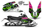 Yamaha APEX XTX Decal Wrap Graphic Kit Part Sled Snowmobile 2006-2011 FRENZY GRN