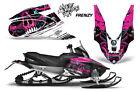 Yamaha APEX XTX Decal Wrap Graphic Kit Part Sled Snowmobile 2006-2011 FRENZY PNK