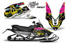 Yamaha APEX XTX Decal Wrap Graphic Kit Part Sled Snowmobile 2006-2011 FRENZY YLW