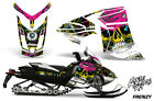 Ski-Doo Rev XR Decal Graphic Kit Sled Snowmobile Sticker Wrap 2013+ FRENZY YELLW
