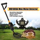 MD-1008A Metal Detector Beach Search Machine Underground Gold Digi LCD DiaplayRL