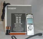 Olympus Digital Voice Recorder DS-40 with owners manual and transfer cord