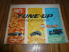 1972 NAPA Echlin Tune-Up Specifications 1958 to 1972 - American & Foreign