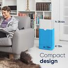 Blue Pure Air Purifier with Particle and Carbon Filter Allergen Odor Pre Filters