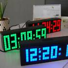 Multifunction Calendar Alarm Clock Temperature Display Electronic Wall Clock