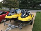 Pair of 2004 Sea Doo 4 tec GTX Supercharged Jet Skis