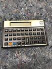 Hewlett Packard HP 12C Calculator W/Pouch & New Batteries