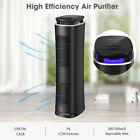Household UV Air Purifier Cleaner True HEPA Filter Low Noise 4 Fan Speed Timer