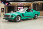 Ford Mustang BOSS 302 Restored Factory Spec! #s Matching Boss 302 V8, 4-Speed, Marti, Original Color!