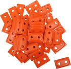 Woody's Double Digger Aluminum Support Plates Orange -5/16in.Thread #ADD2-3805-B