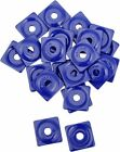 Woody's Square Digger Support Plate Blue 48pk #ASW2-3795-48