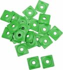 Woody's Square Digger Support Plate Green 48pk #ASW2-3780-48