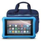 Fire HD 8 Kids Essentials Bundle with Fire HD 8 Kids Edition (Blue), NuPro