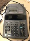 CASIO DR-250HD Tax & Exchange 2 Color Display Accounting Calculator Office