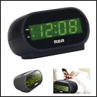 Digital ALARM CLOCK with Night Light Alarm Indicator Black 7 inch LED Display US