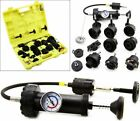 18pc Radiator Leak Pressure Tester Detector Checker Pump Kit Tool Car Truck Auto