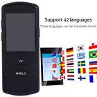 5B88 42Languages Multifunctional BT4.0 Handheld Smart Voice Translator