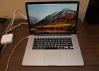 "Macbook Pro 15.4""  early 2013"