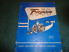 1951 1952 1953 1954 FERGUSON TRACTOR TO30 SERIES OWNERS MANUAL / ORIG GUIDE BOOK