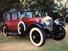 1927 Phantom I DeVille Sedan 1927 Rolls Royce Phantom I DeVille Sedan 31143 Miles Black/Maroon 7.7 L 4 Speed