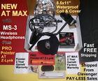 SPECIAL NEW 2018 Garrett AT MAX Metal Detector with PRO Pointer AT Z-Lynk