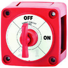 Blue Sea 6005 M-Series Mini Battery Switch Single Circuit ON/OFF With Key
