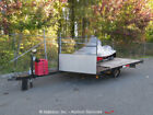 Yamaha Exciter II EX570 Two Stroke Snowmobile w/ S/A Flatbed Utility Trailer