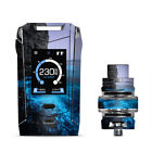Skins Decals for Smok Species Kit Vape / Paradise Sea Wall Cliffs Glowing Water