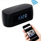 Camera Alarm Clock Night Vision HD 1080P Video Wireless IP Support IOS/Android