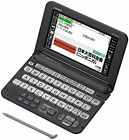 Casio Electronic Dictionary EX-word XD-Y6500BK Black. You can learn Japanese