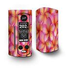 Skin Decal for Wismec Reuleaux RX Gen3 Dual Vape / Plumerias Pink Flowers