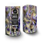 Skin Decal for Wismec Reuleaux RX Gen3 Dual Vape / Resin Swirl Opalescent Oil S