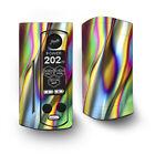 Skin Decal for Wismec Reuleaux RX Gen3 Dual Vape / Oil Slick Rainbow Opalescent