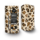 Skin Decal for Wismec Reuleaux RX Gen3 Dual Vape / Brown Leopard Skin Pattern