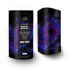 Skin Decal for Wismec Reuleaux RX Gen3 Dual Vape / Galaxy Wormhole Space
