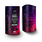 Skin Decal for Wismec Reuleaux RX Gen3 Dual Vape / Fiber Optics Red Needles Spa