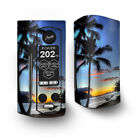 Skin Decal for Wismec Reuleaux RX Gen3 Dual Vape / Paradise Sunset Palm Trees